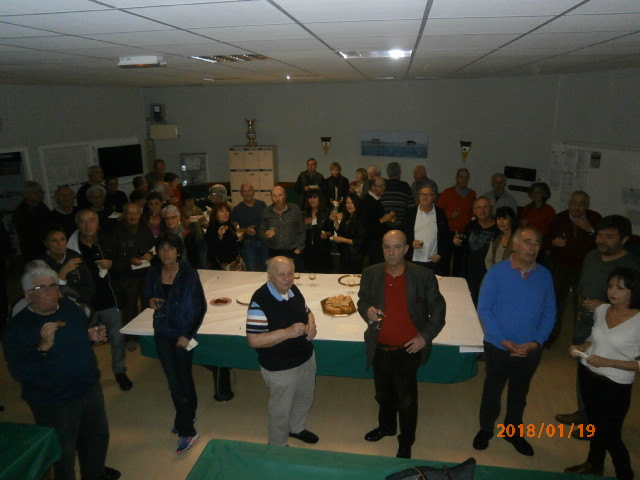 Cette photo de groupe pour vous remercier d'être venus nombreux.